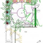 Apartment garden plan