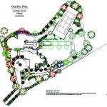Large rural garden plan