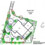 Suburban garden plan