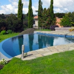 Small infinity pool