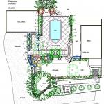 Country garden plan